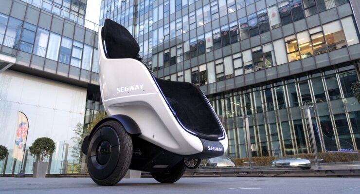 Segway announces S-Pod at CES 2020