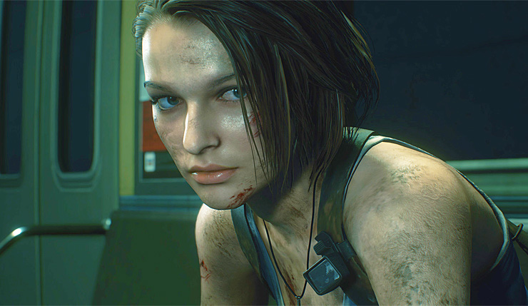 Resident evil 3 remake leak opening scene