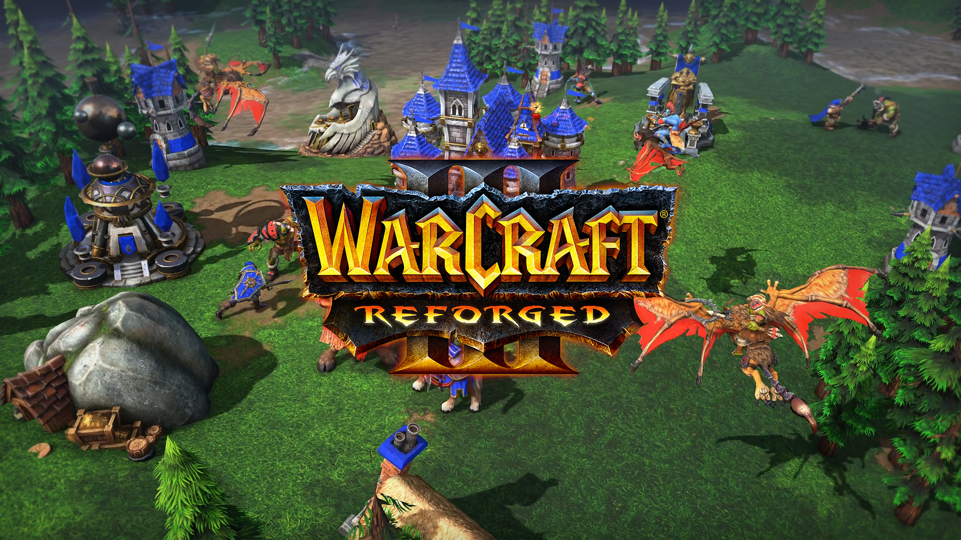 Warcraft III: Reforged Future Patches to Address Classic Mode Visuals  Issues, Add Online Features and More