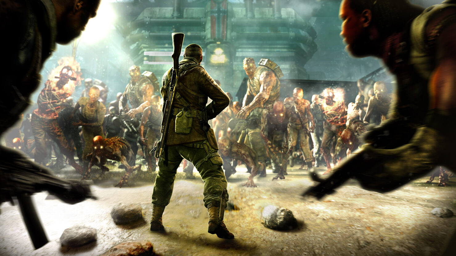 Картинки зомби военных