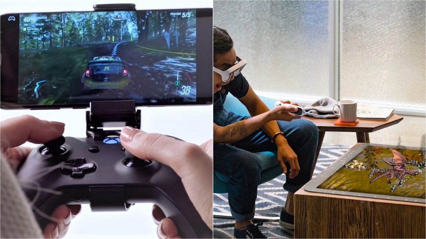 Cloud gaming and Augmented Reality