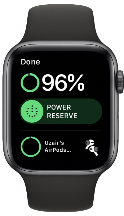 Check AirPods battery life straight from Apple Watch