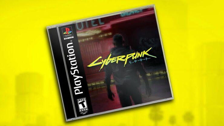 cyberpunk 1997 demake psx cyberpunk 2077