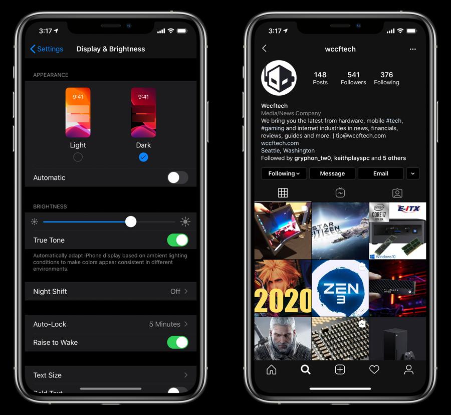 How To Enable Instagram Dark Mode On Iphone Ipad