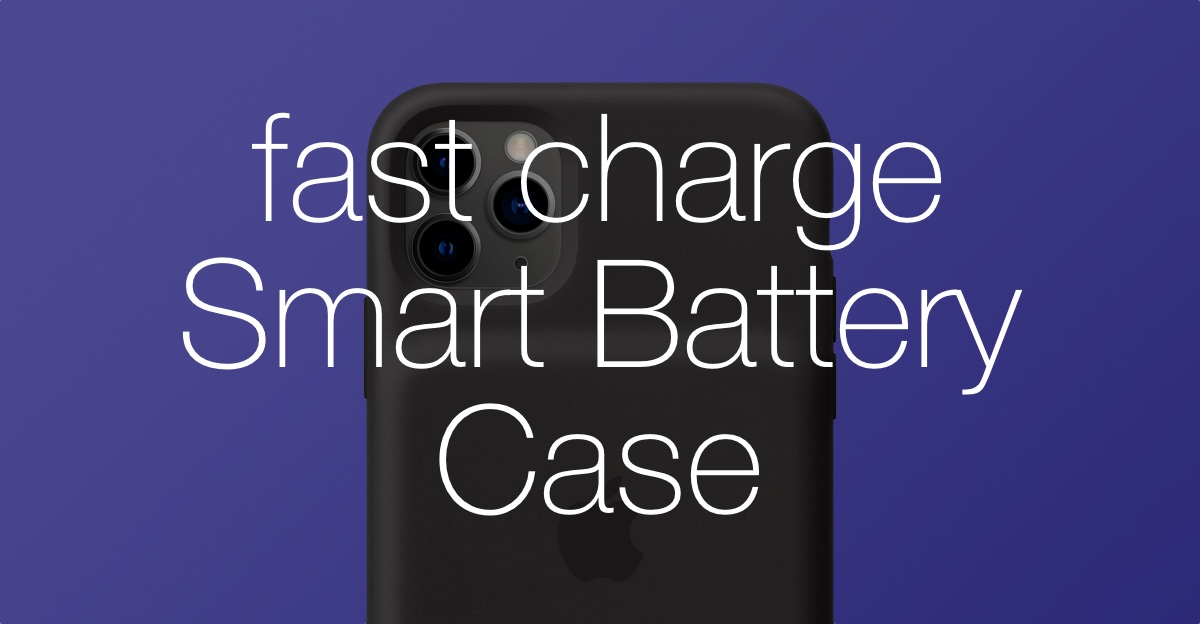 Fast Charge iPhone 11, 11 Pro Max Smart Battery Case