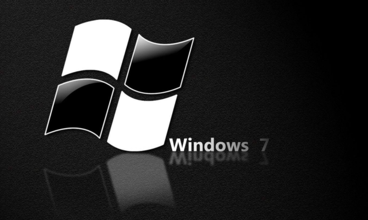 fix Windows 7 black wallpaper
