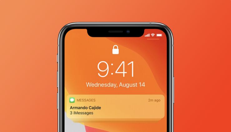 How to hide lock screen notifications on iOS 13 or iPadOS