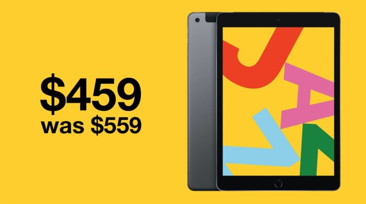 10.2-inch iPad 7 is currently $100 off on Amazon