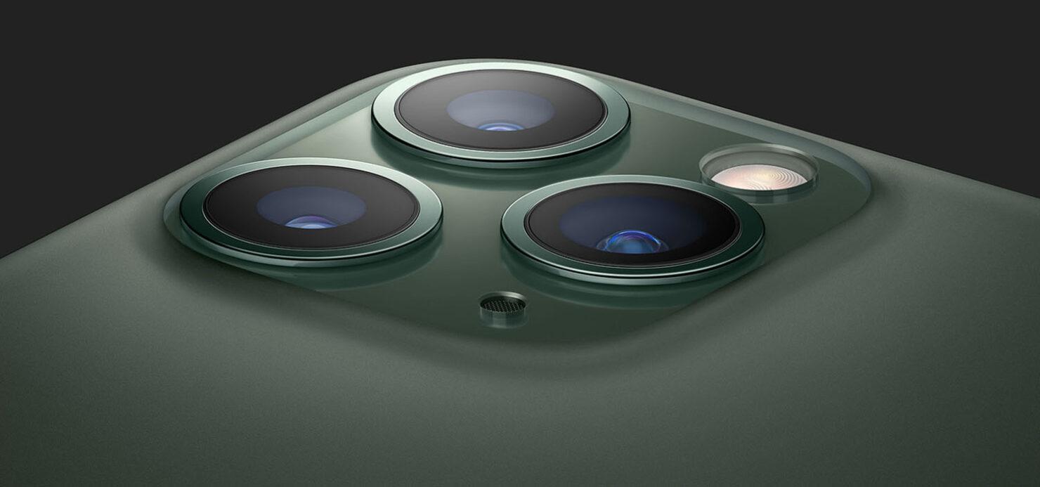 iPhone 11 Pro Night Mode telephoto lens info
