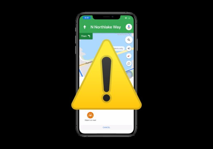 iPhone emergency beacon