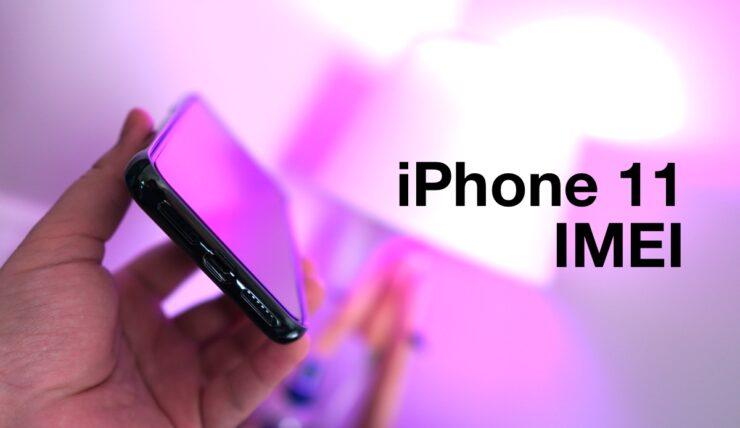 iPhone 11 Pro max IMEI