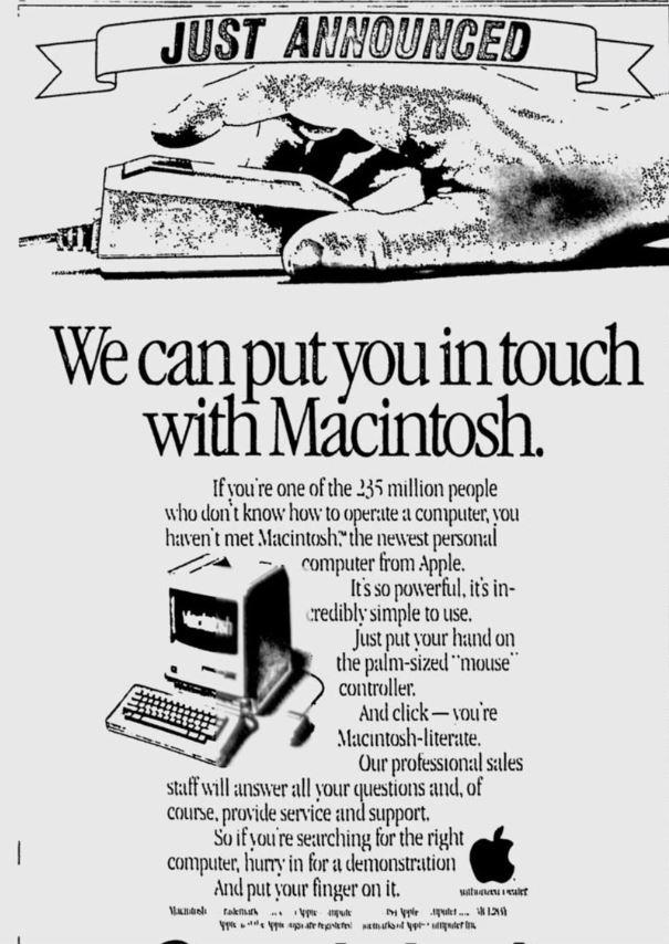 Macintosh Ad