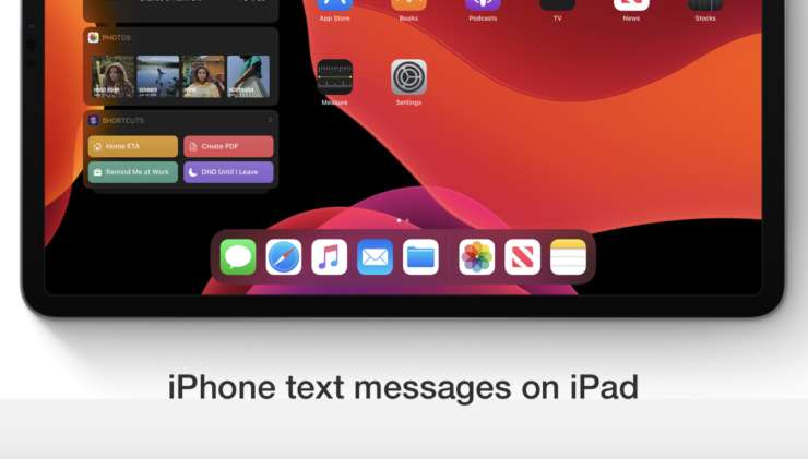 Learn to receive your iPhone text messages on iPad