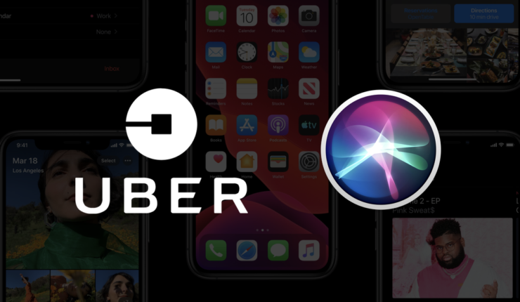 Request an Uber ride using Siri