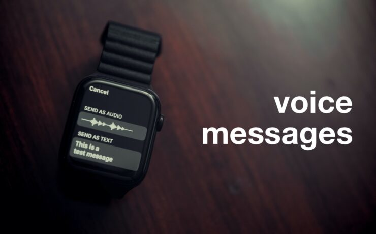 voice messages from Apple Watch