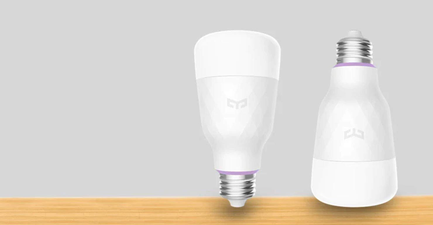 yeelight smart light bulb