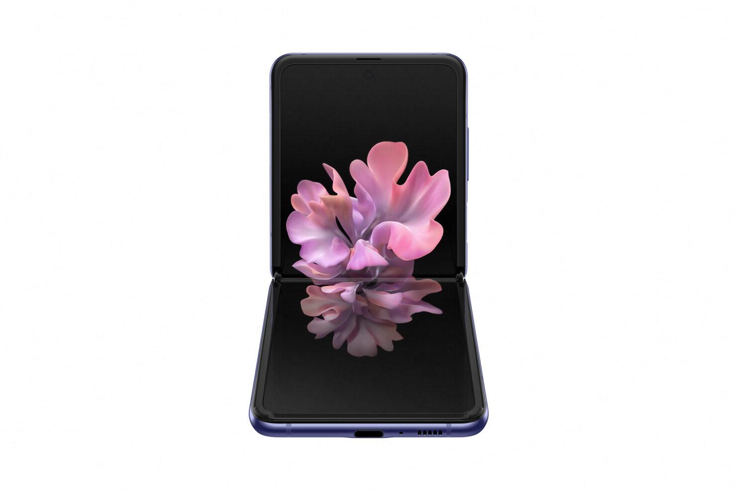 003_galaxyzflip_mirror_purple_front_table_top
