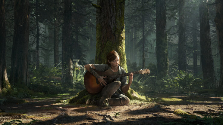 The Last of Us Part II key art ellie