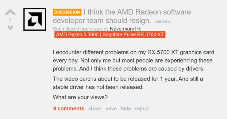 Amd Radeon Rx Gpu Drivers Are A Mess Black Screen Stuttering Etc