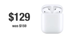AirPods with Charging Case down to just $129