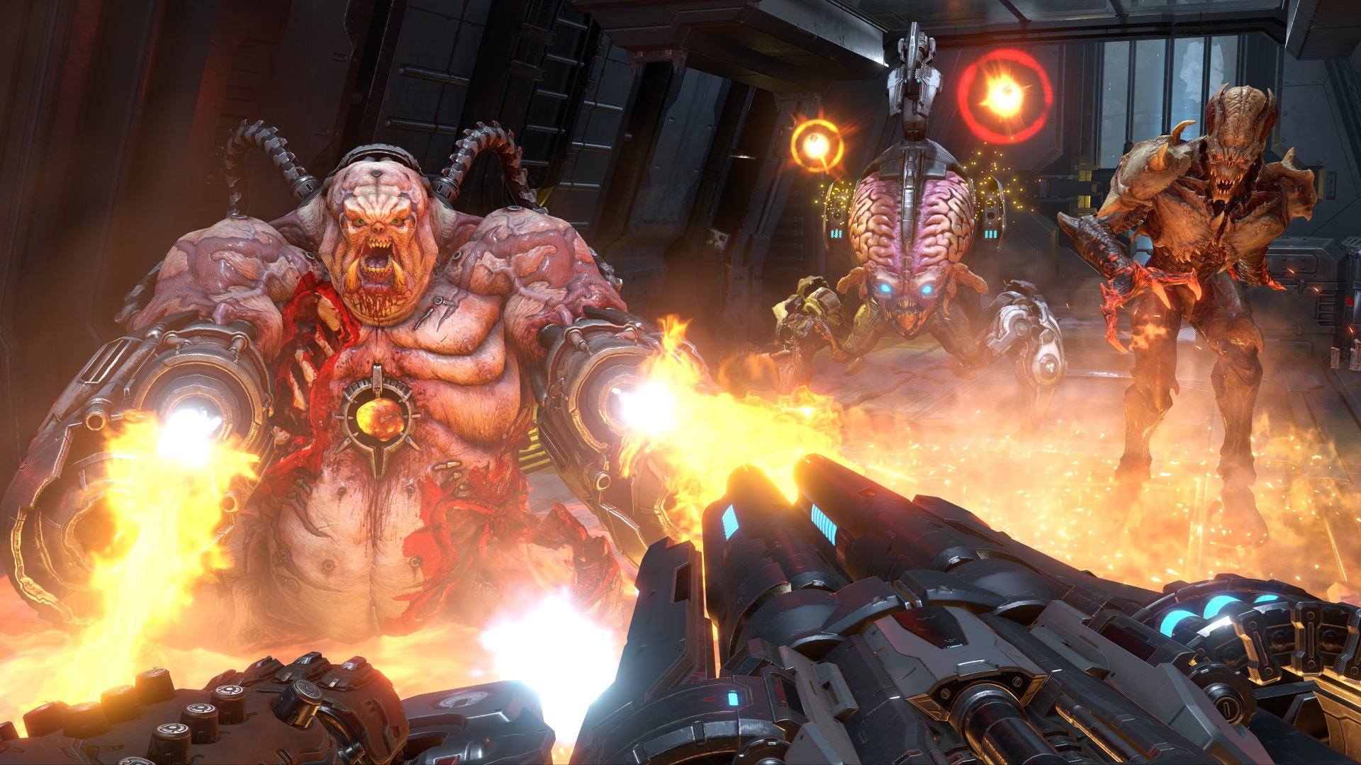 Doom Eternal New Footage Gives First Gameplay Look At The Marauder