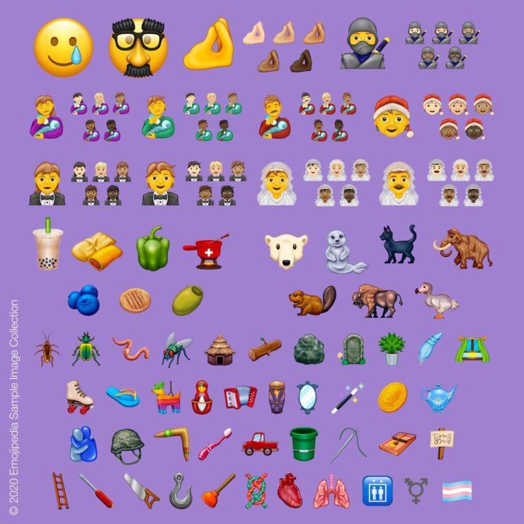 Emoji 13.0 samples
