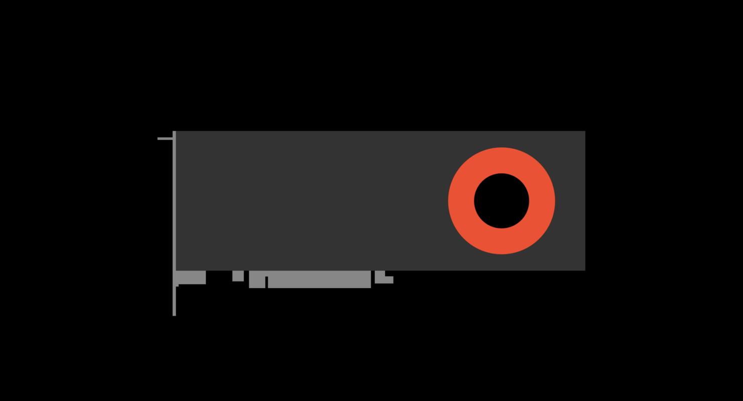 AMD card graphic