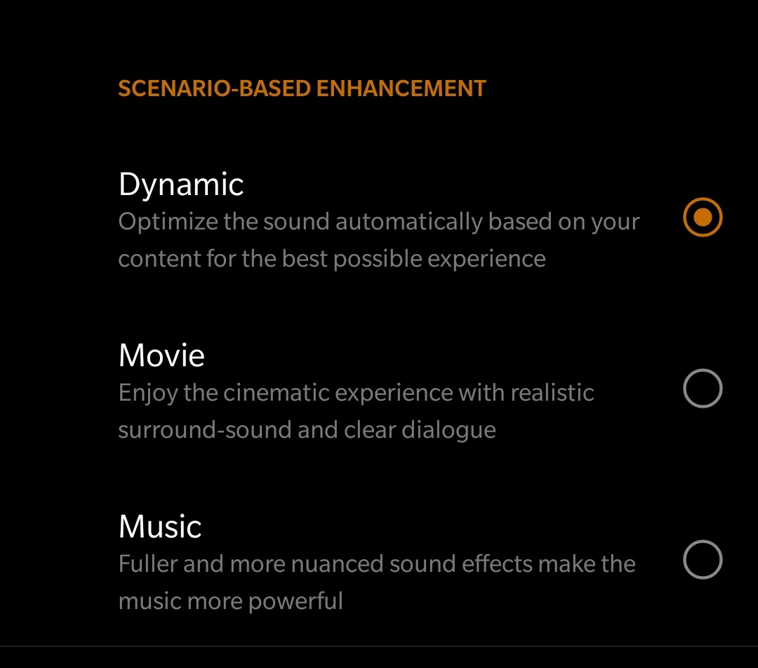 Enable Dolby Atmos
