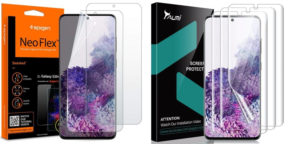 Galaxy S20+ screen protectors