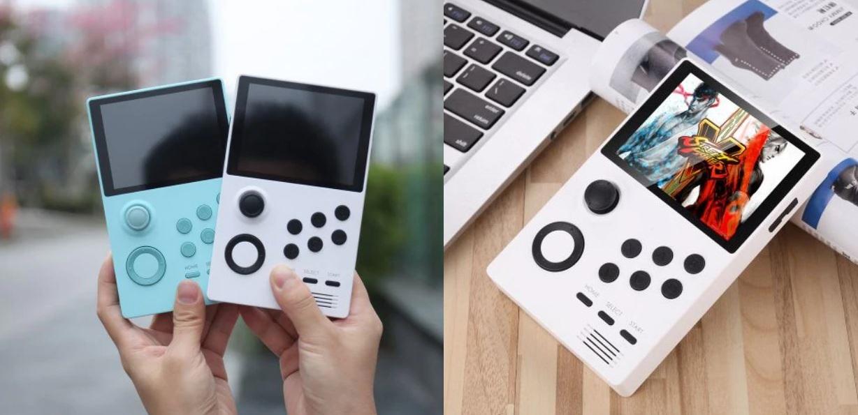 Supretro handheld game console