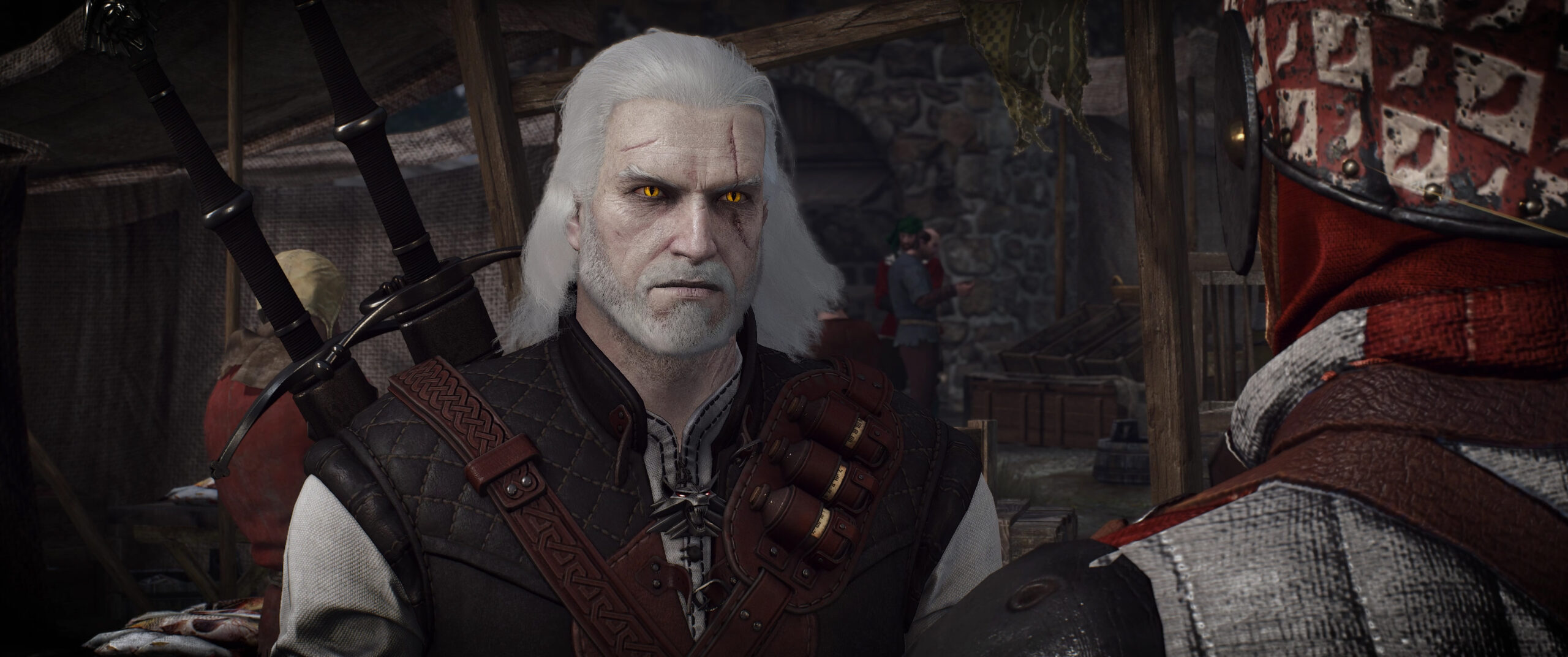 The Witcher 3 Hairworks Overhaul Mod Improves Details And Physics Of Hairworks Styles And Beards
