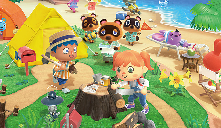 Animal Crossing New Horizons sales