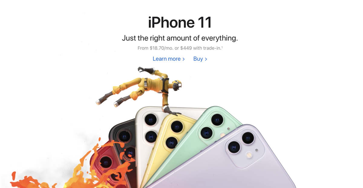 Apple Arcade Cunningly Takes Over the Official Apple Website, New Video Ad Spot Launched