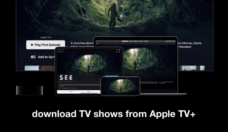 download TV shows from Apple TV+ on iPhone or iPad