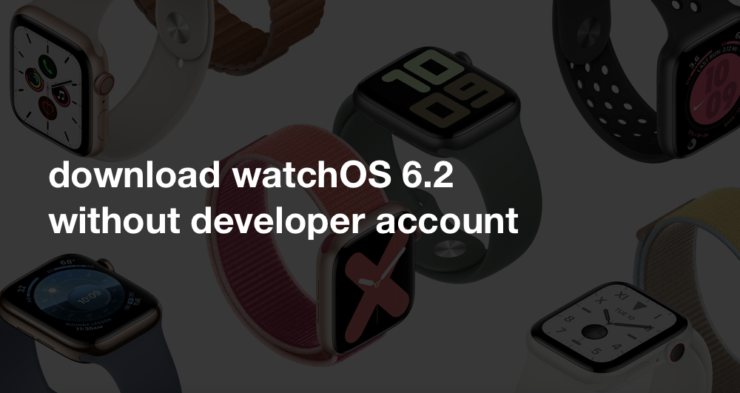 Download watchOS 6.2 beta without a developer account