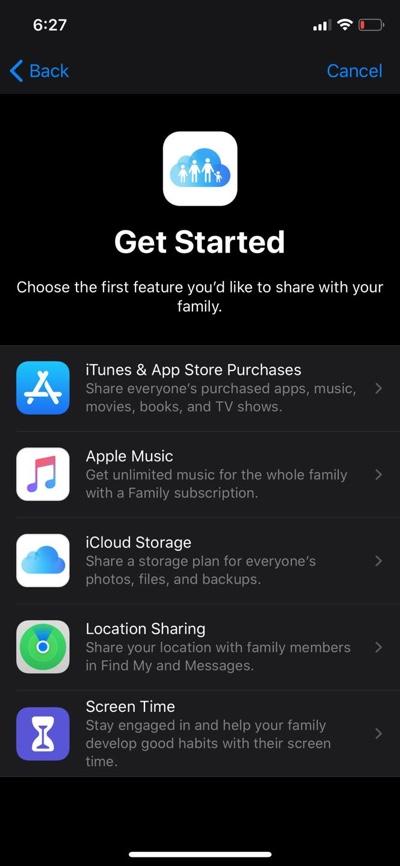 Tap on iCloud Storage