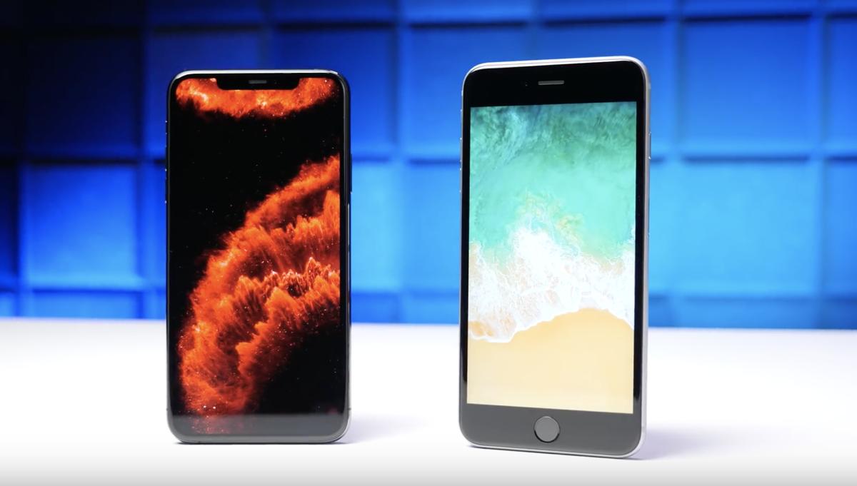 iPhone 6s vs iPhone 11 Pro speed test comparison