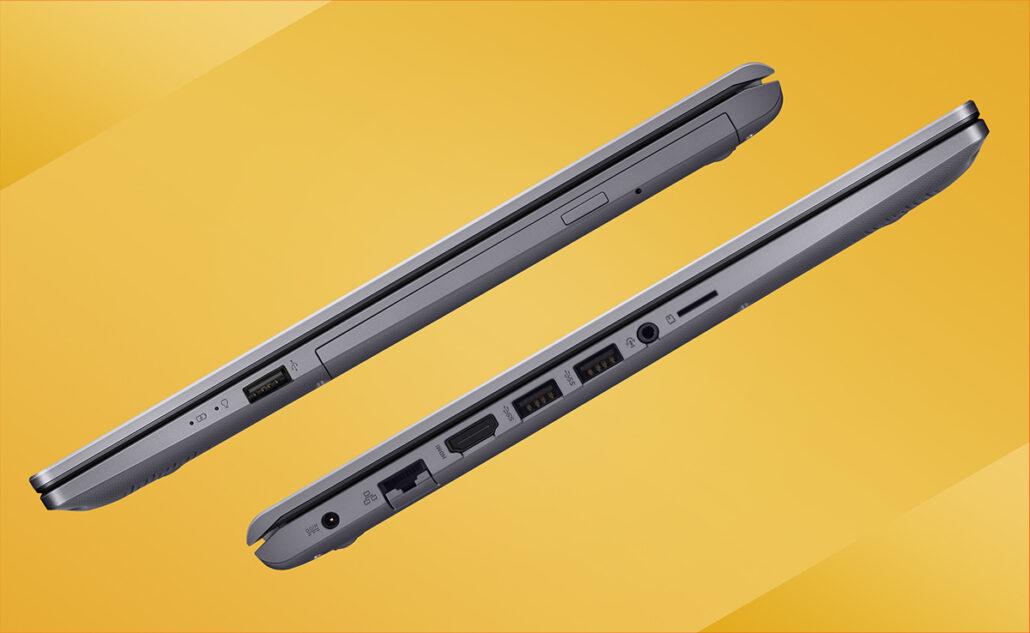 La computadora portátil X545FA de ASUS presenta el procesador Comet Lake de Intel y una unidad óptica 1