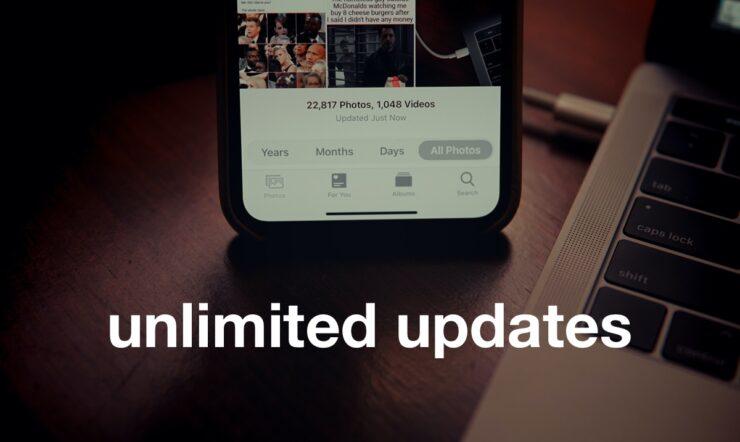 Unlimited Updates
