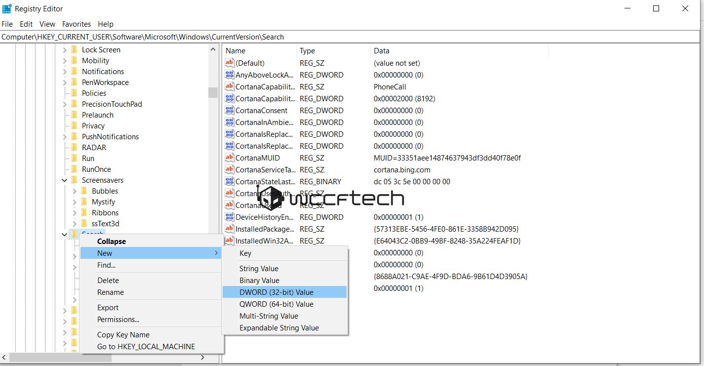 fix windows 10 search