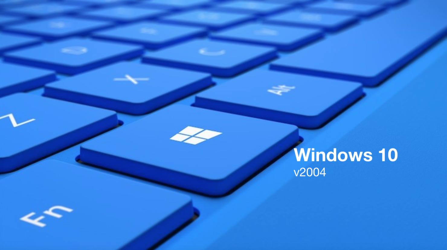 windows 10 iso 2004 Windows 10 version 2004 windows 10 may 2020 update windows 10 version 2004