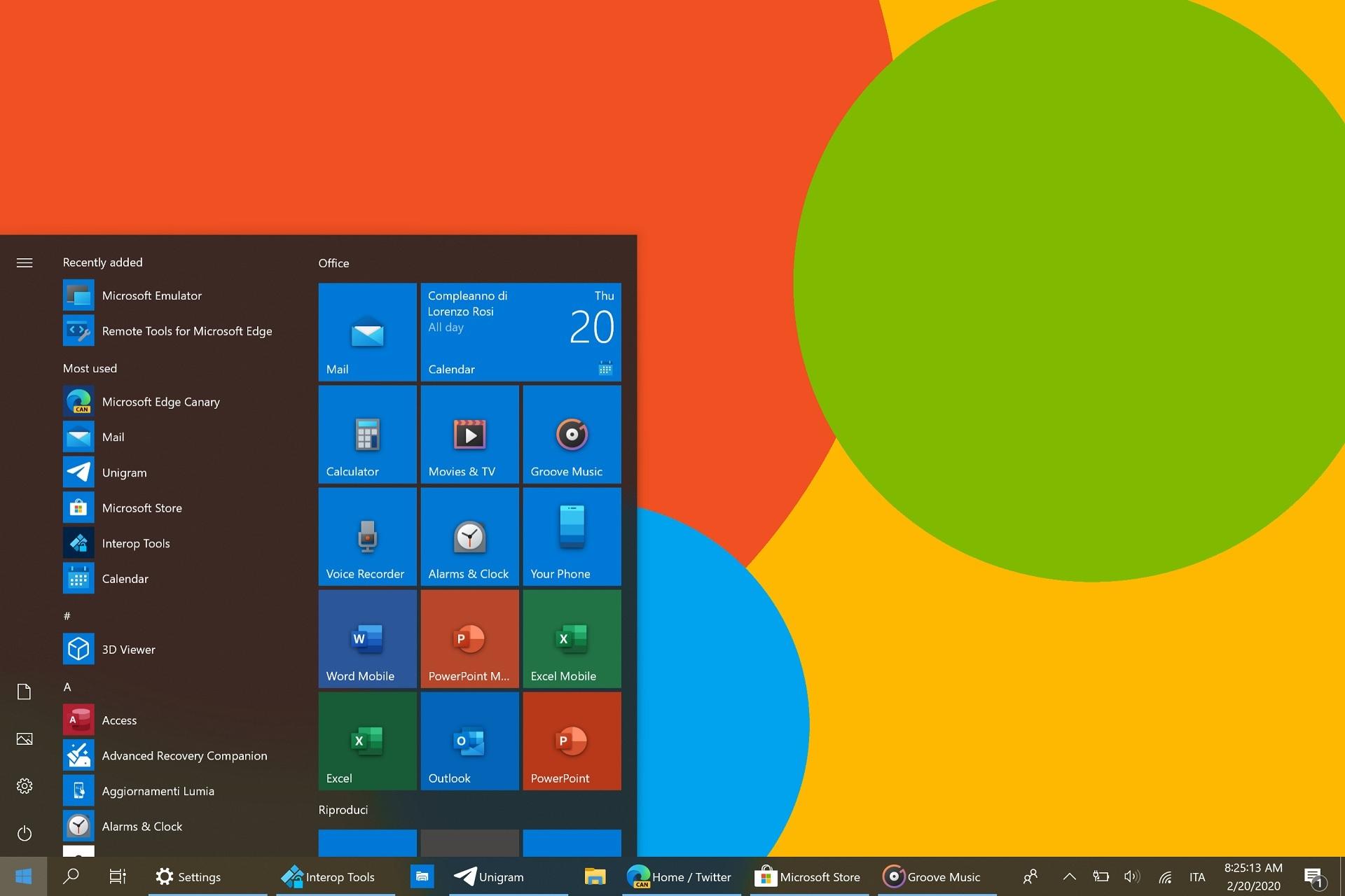 windows 10x icons