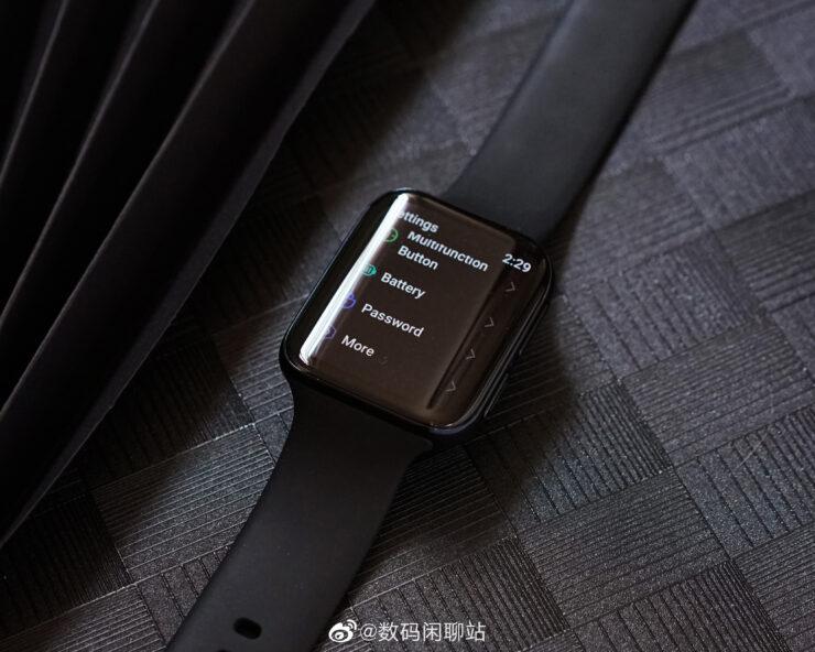 Oppo copia descaradamente el diseño del reloj de Apple para crear su reloj inteligente 1