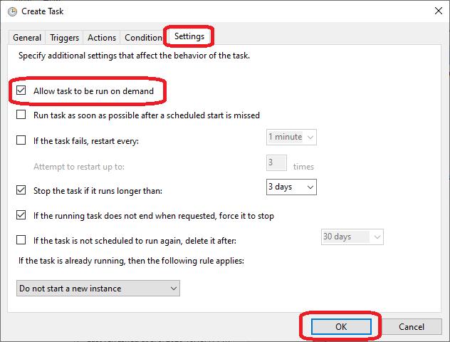 auto shutdown in Windows 10