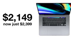 16-inch MacBook Pro sees huge drop in price on Amazon