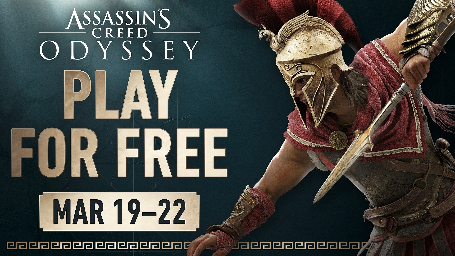 In S Creed Odyssey Is Free To
