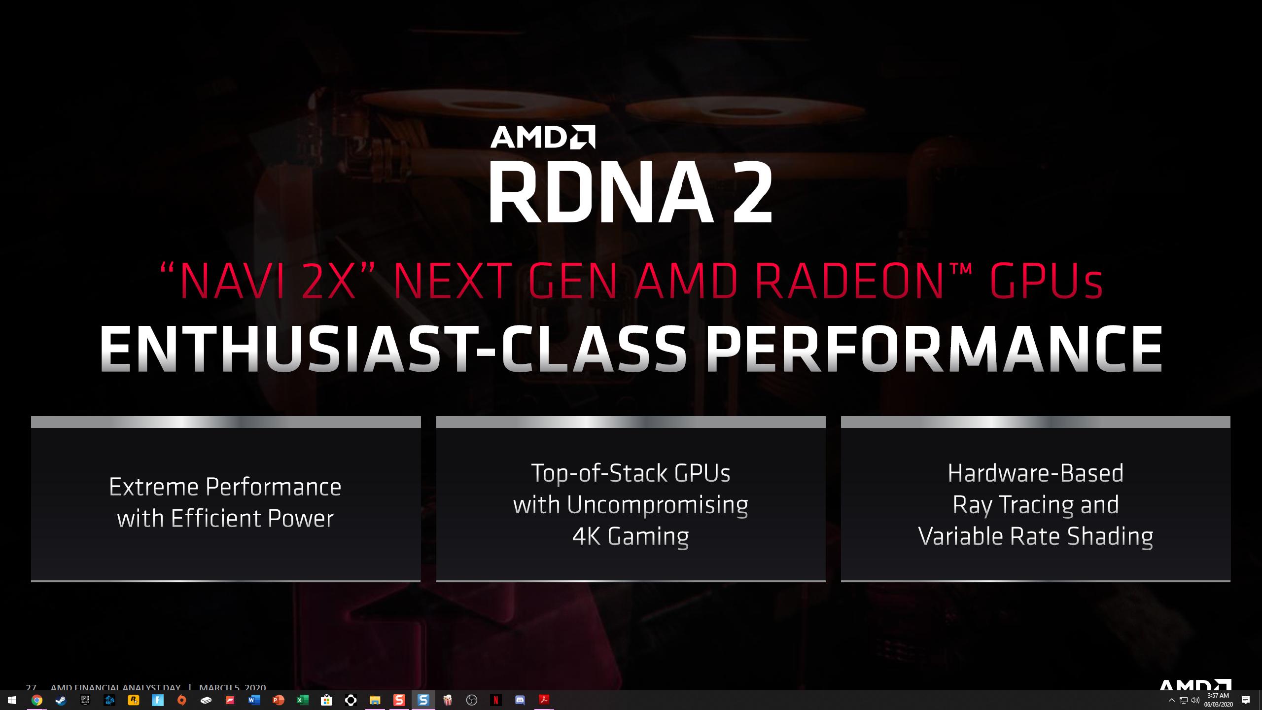Amd Rdna 2 Powered Big Navi 21 Radeon Rx Graphics Cards Leaked