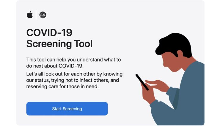 Apple COVID-19 Screening App and Website