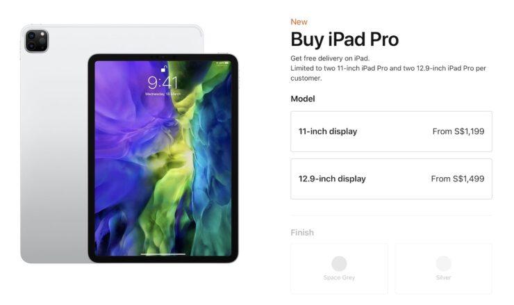 Apple iPad Pro Purchase lImits