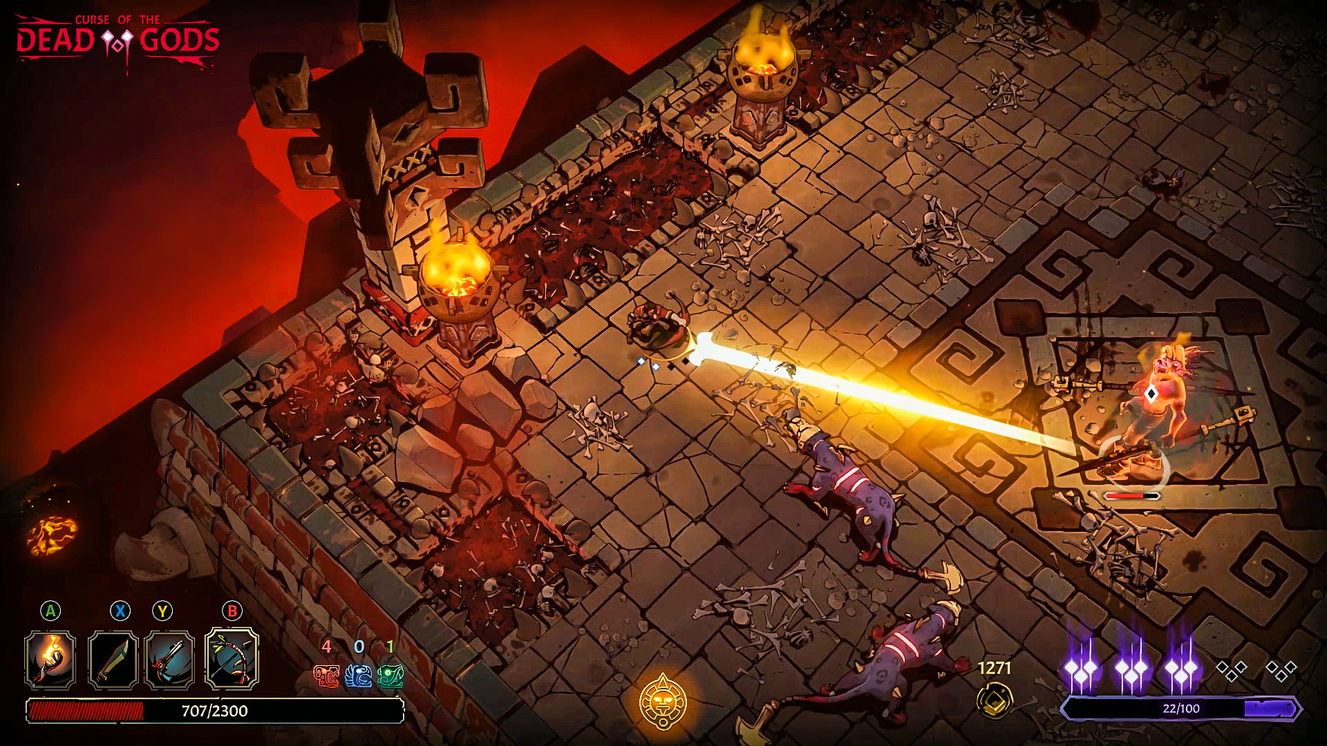 PAX East 2020: Curse of The Dead Gods Hands-On Preview - A Worthy Sacrifice